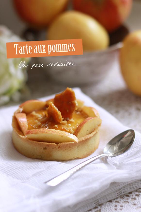 Tarte aux pommes TARTE AUX POMMES... QUELQUE PEU REVISITÉE !