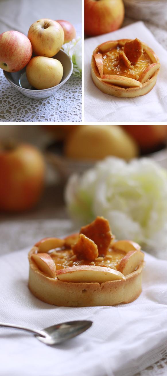 Tarte aux pommes Compo TARTE AUX POMMES... QUELQUE PEU REVISITÉE !