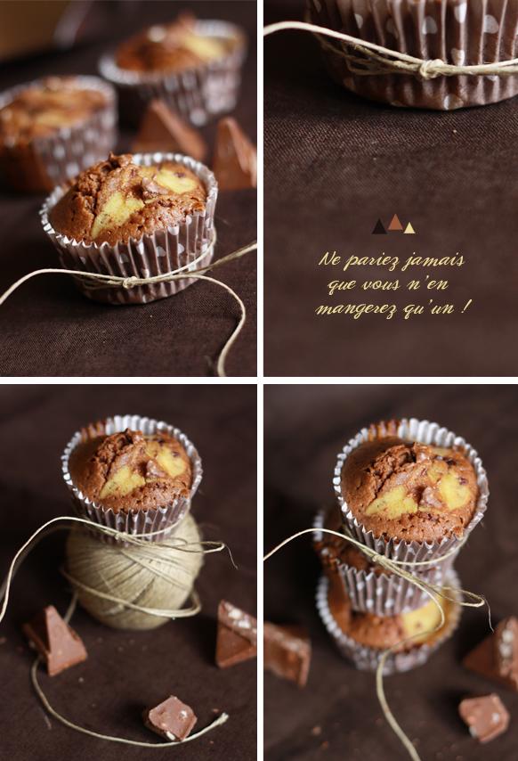 Muffins Toblerone stracciatella Compo MUFFINS TOBLERONE STRACCIATELLA