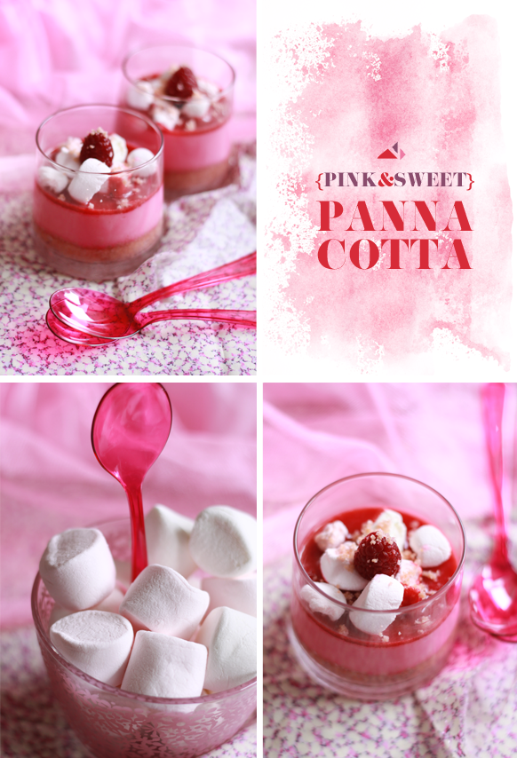 Panna Cotta Rose Compo {SWEET & PINK} PANNA COTTA