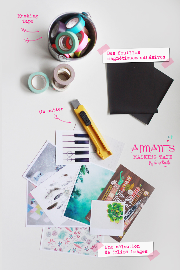 Aimants masking tape 2 {DIY} AIMANTS MASKING TAPE