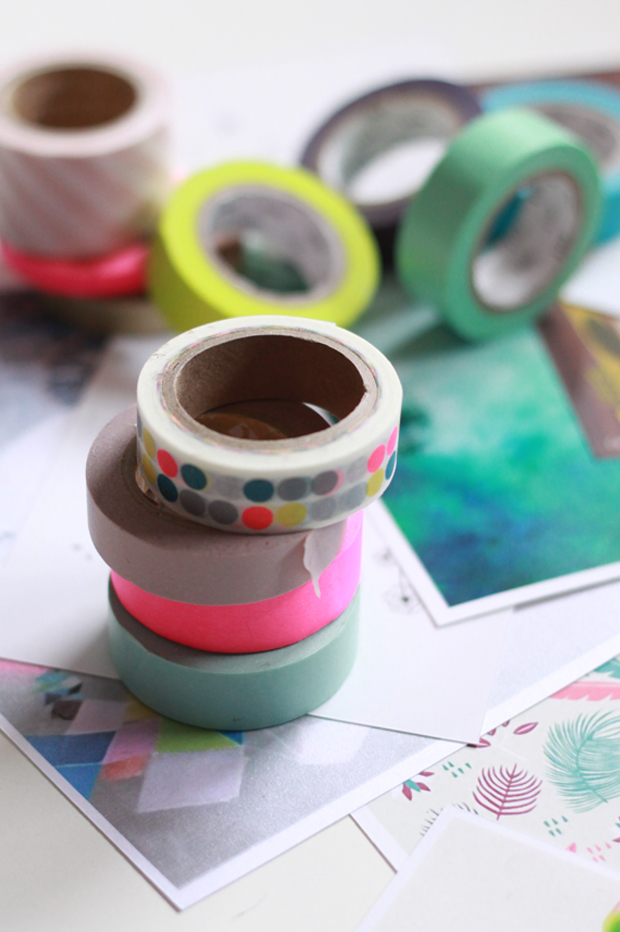 Aimants masking tape4 {DIY} AIMANTS MASKING TAPE