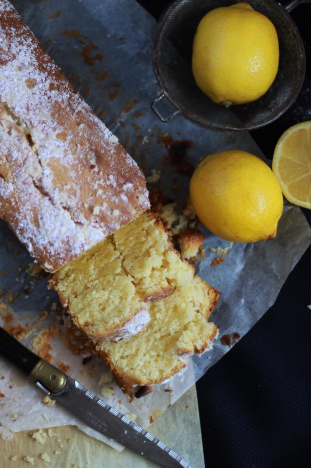 Cake au citron3 CAKE AU CITRON & MASCARPONE