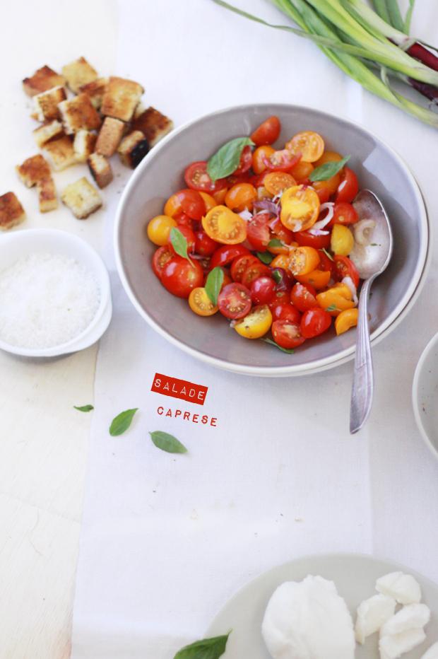 Salade Caprese2 SALADE CAPRESE