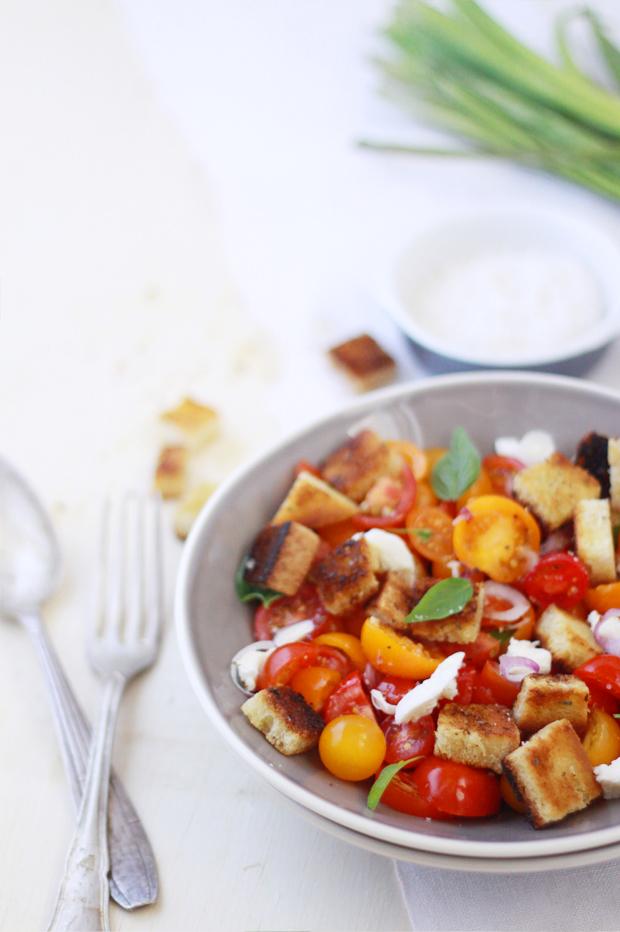 Salade Caprese3 SALADE CAPRESE