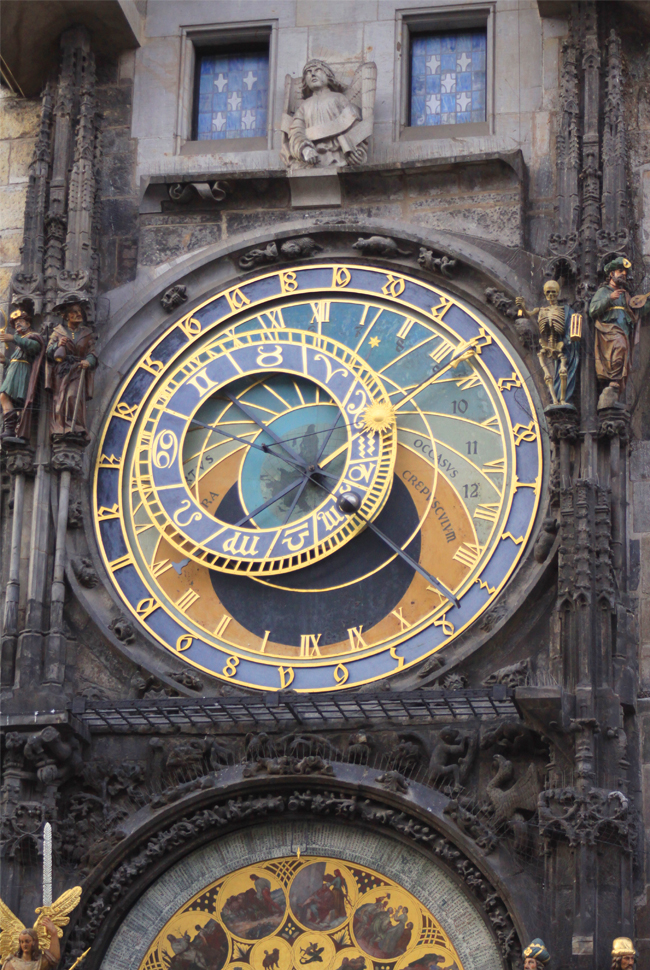 City Guide Prague Horloge 3 JOURS À PRAGUE {CITY GUIDE}