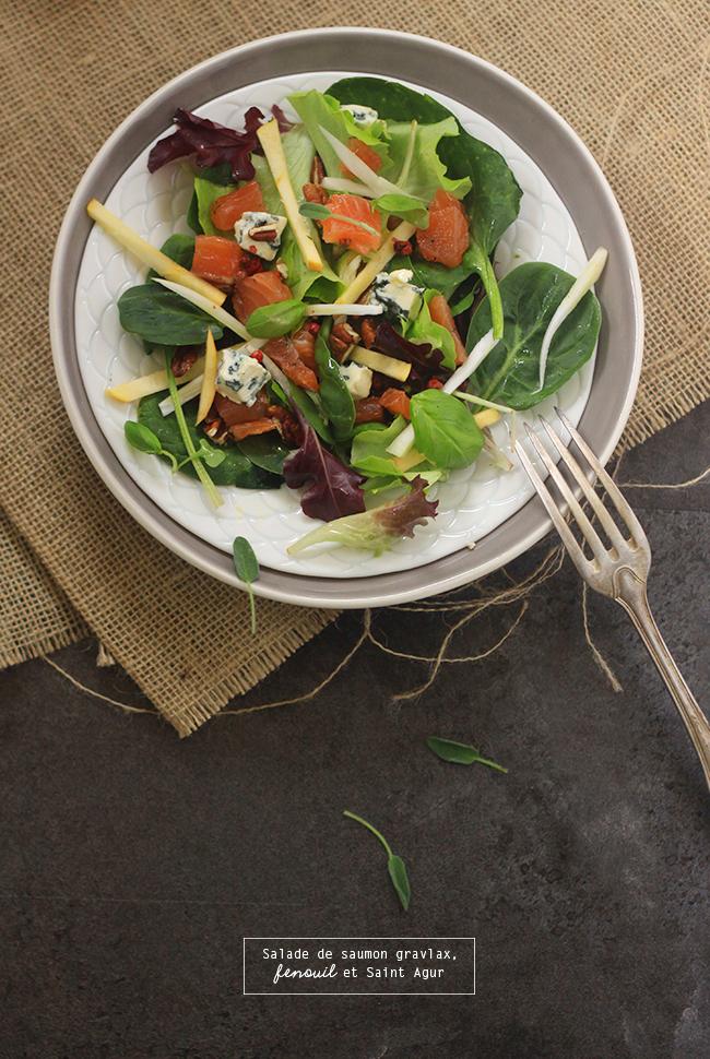 Salade-de-saumon-gravlax,-fenouil-et-St-Agur4