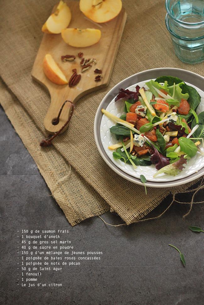 Salade-de-saumon-gravlax,-fenouil-et-St-Agur5