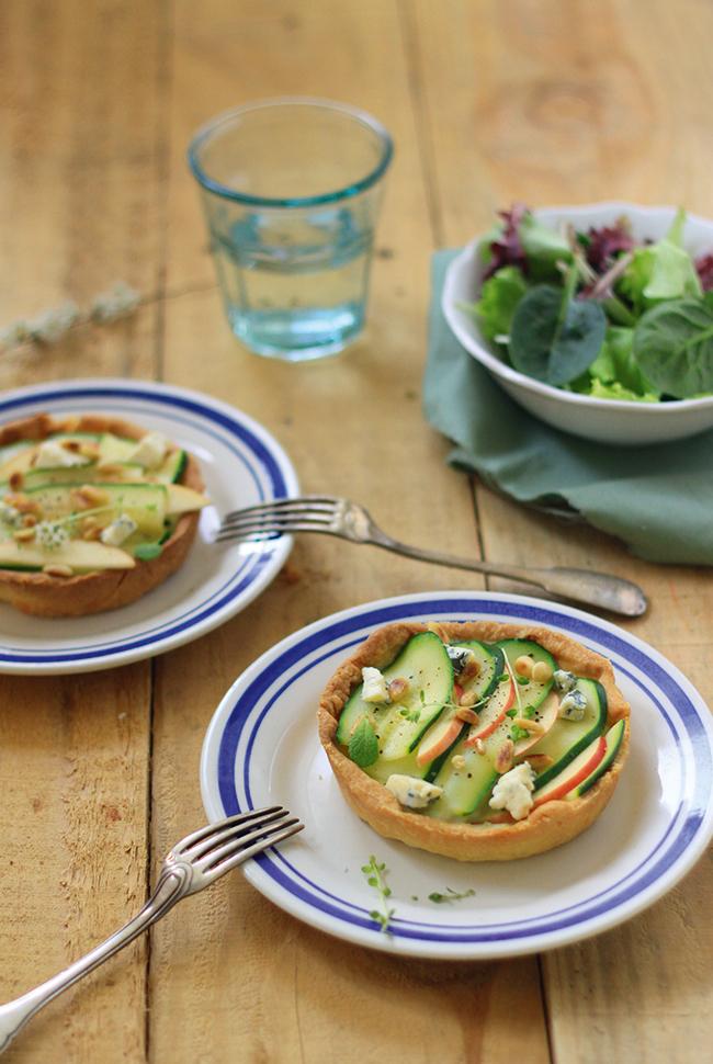 Tartelettes-courgettes-St-Agur-et-pommes2