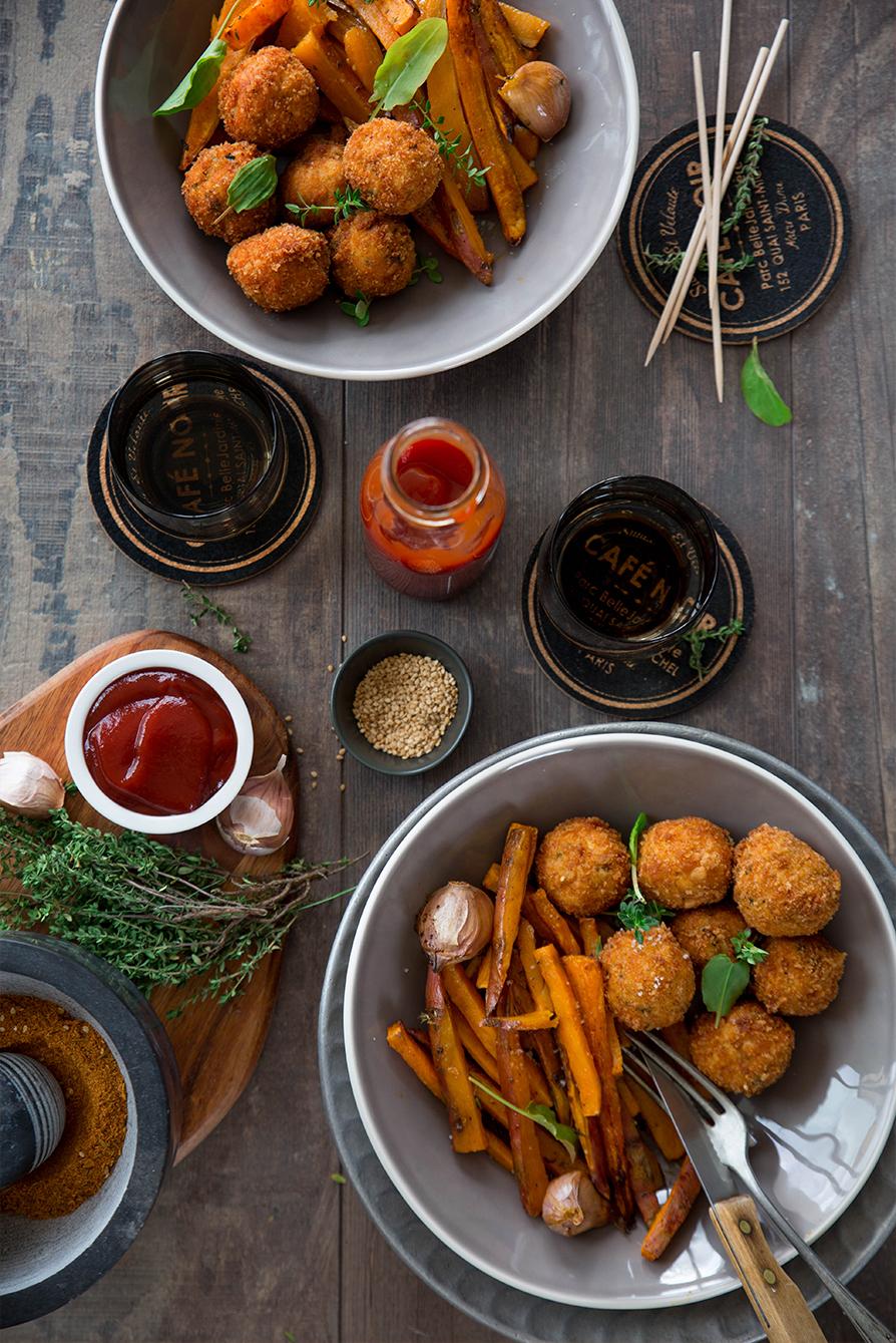 Boulettes de poulet aux épices ©Fraise & Basilic