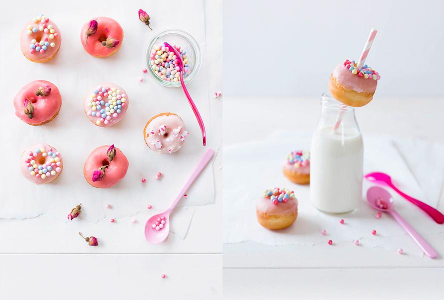 Minis donuts ©Fraise & Basilic