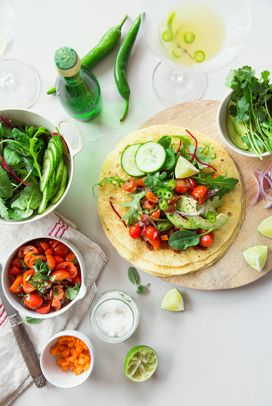 Vegetables Tacos ©‎Fraise & Basilic