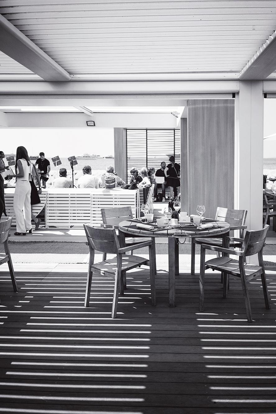 Les chefs font leur cinéma - Nespresso Cannes ©Fraise & Basilic