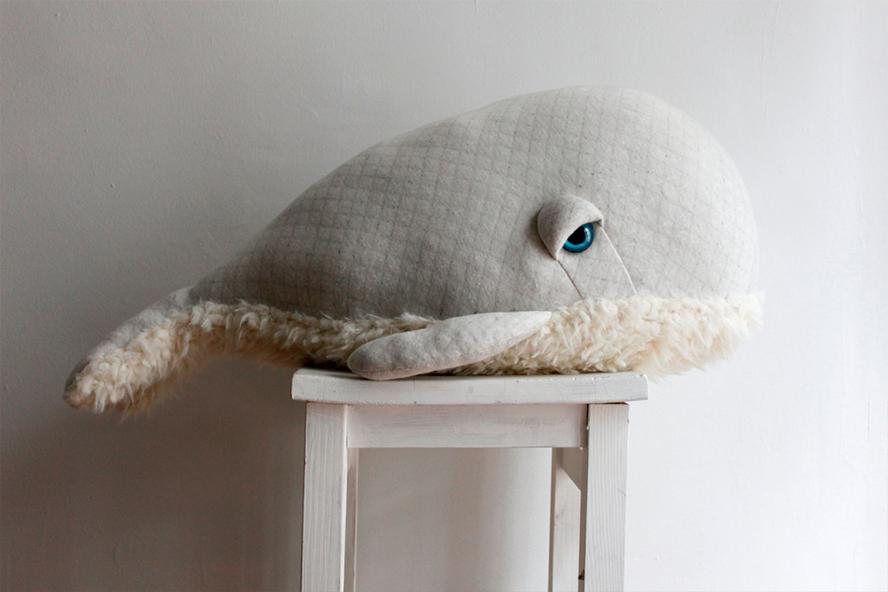 Baleines Big Stuffed