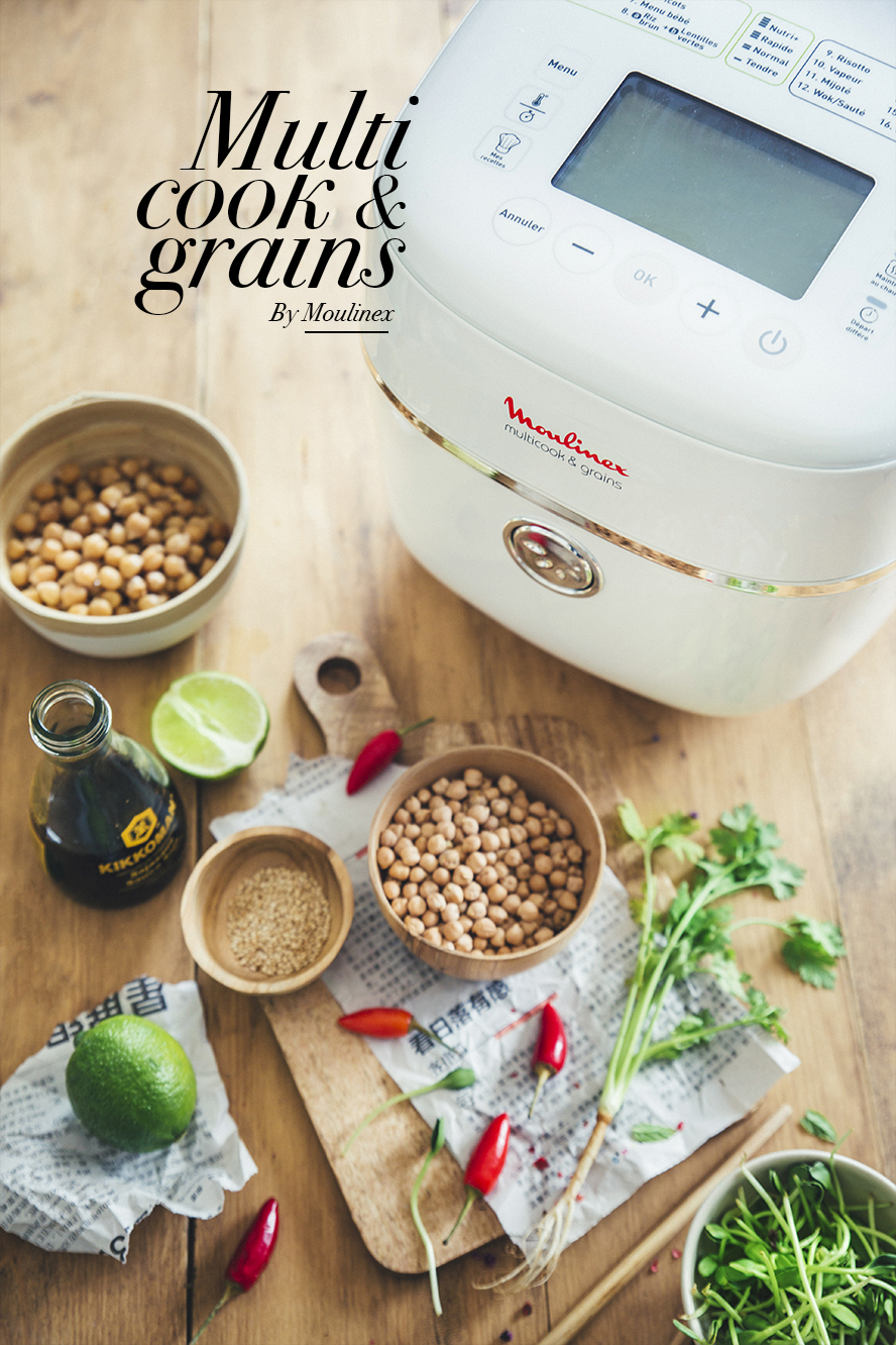 Multicook & grains Moulinex
