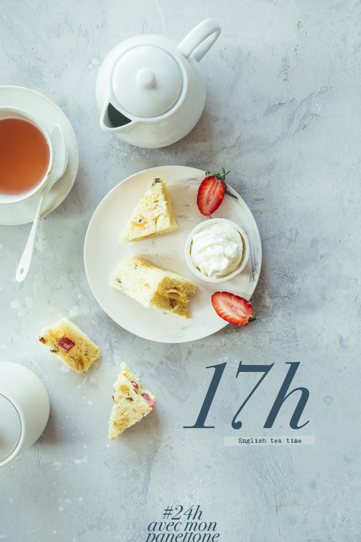 24h avec mon panetone - 17h Tea time