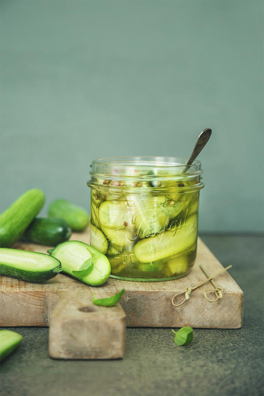 Pickles de concombres ©Fraise & Basilic