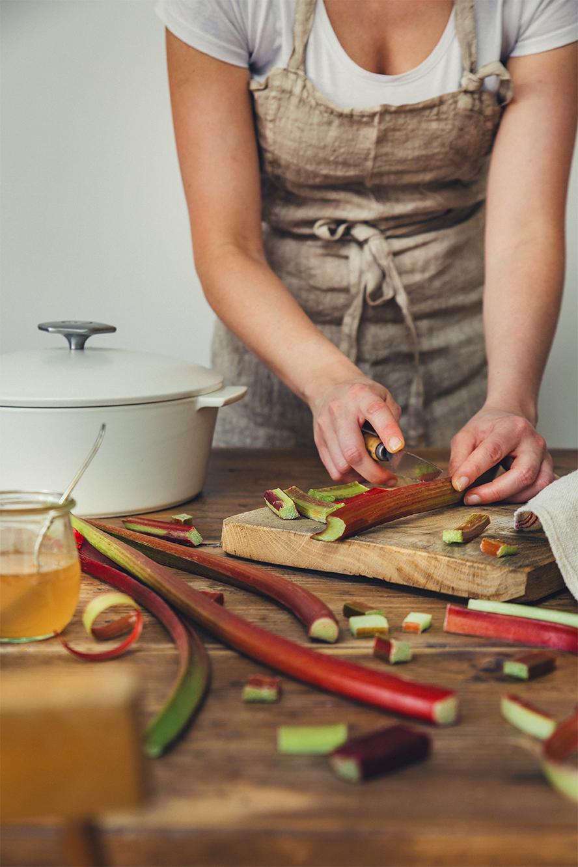 Compote de rhubarbe ©Fraise & Basilic