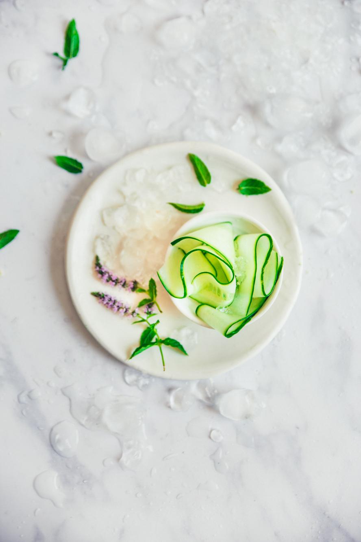 Popsicle concombre citron vert aux galettes St Michel ©Sandrine Saadi
