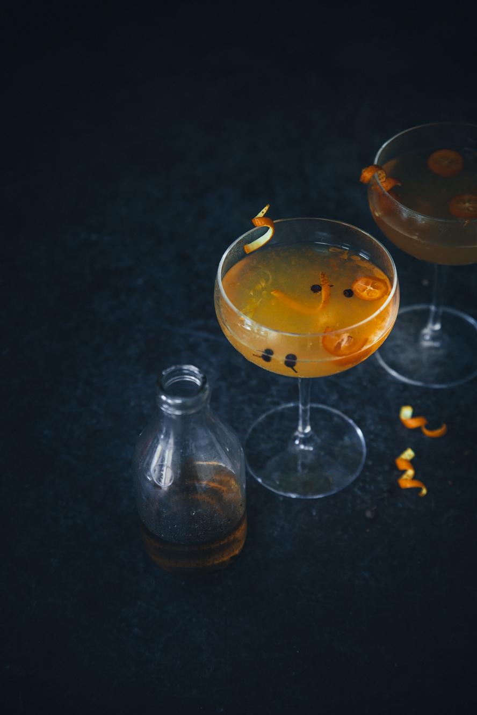 Cocktail epice aux clementines ©Sandrine Saadi