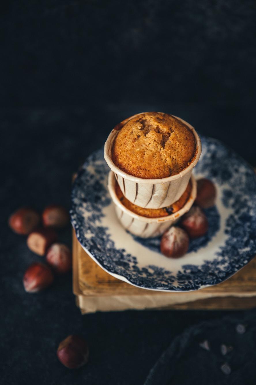 Muffins poire et chocolat ©Sandrine Saadi