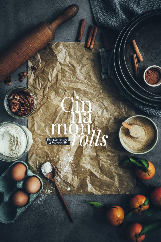 Cinnamon rolls ©Sandrine Saadi