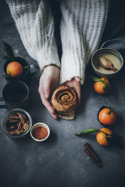 Cinnamon buns ©Sandrine Saadi