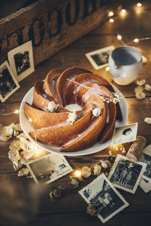 Bundt cake au jasmin ©Sandrine Saadi