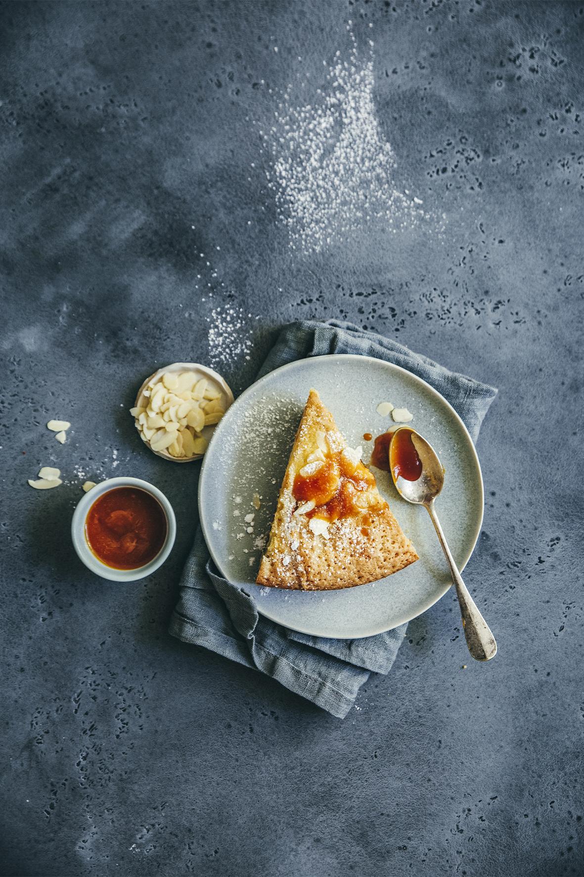 Gâteau du dimanche pommes-noisettes © Sandrine Saadi