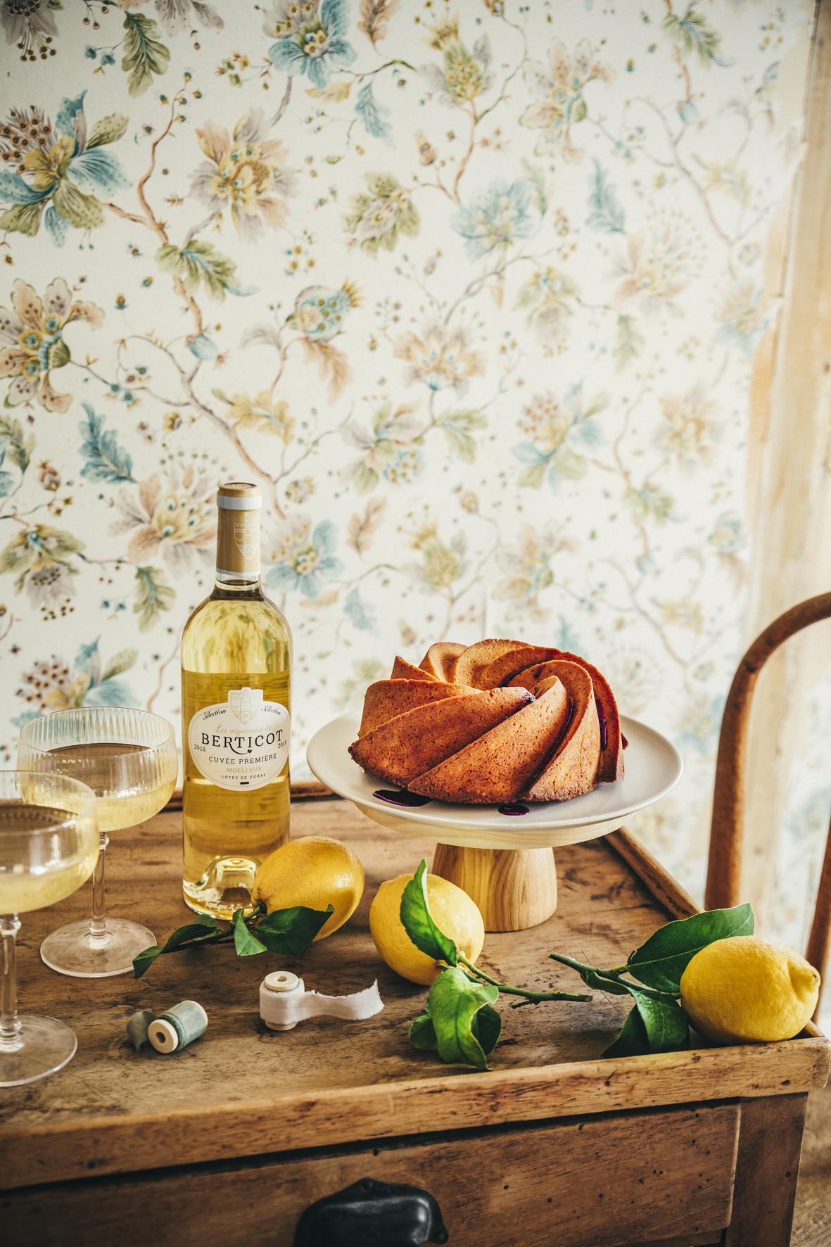 Bundt cake citron pavot ©Sandrine Saadi