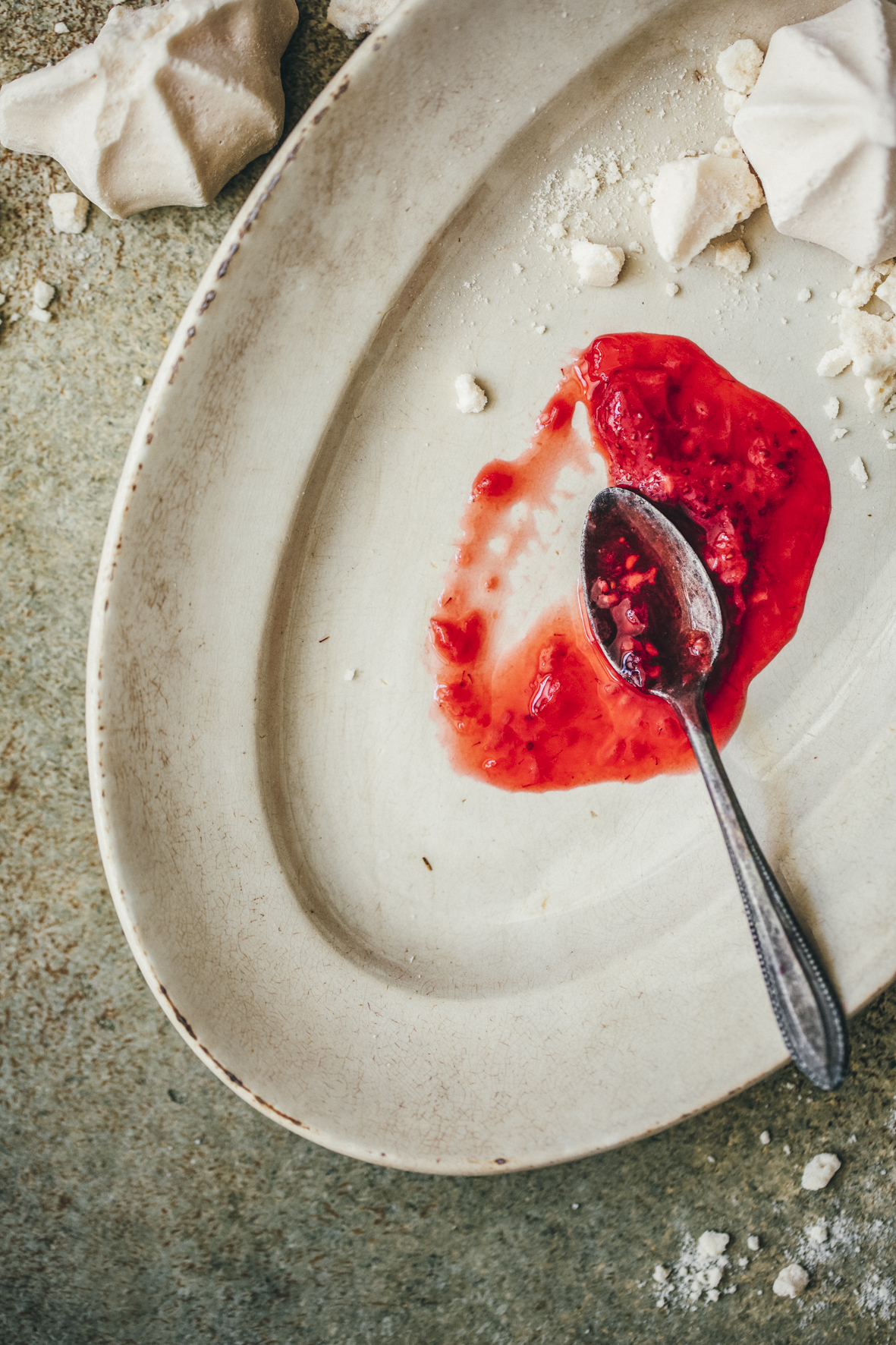 Compotée fraises framboises ©Sandrine Saadi